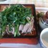 栃木でニラそばを食べました。「宮入そば」