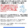 ご注意!Googleを装った「お使いのシステムは(4)のウイルスから極度のダメージを受けています!」