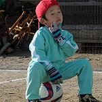 サッカークラブを見学。息子のプレーに困惑。
