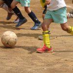息子のサッカー初試合を観戦。負けたくないから頑張る!