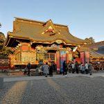 大杉神社へ初詣。金運アップなるか!?